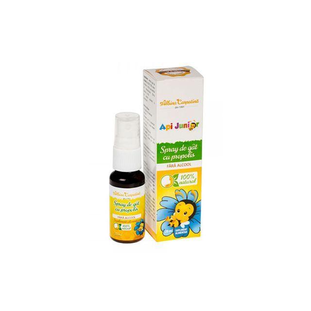Spray de gat cu propolis Api Junior 20ml, Albina Carpatina