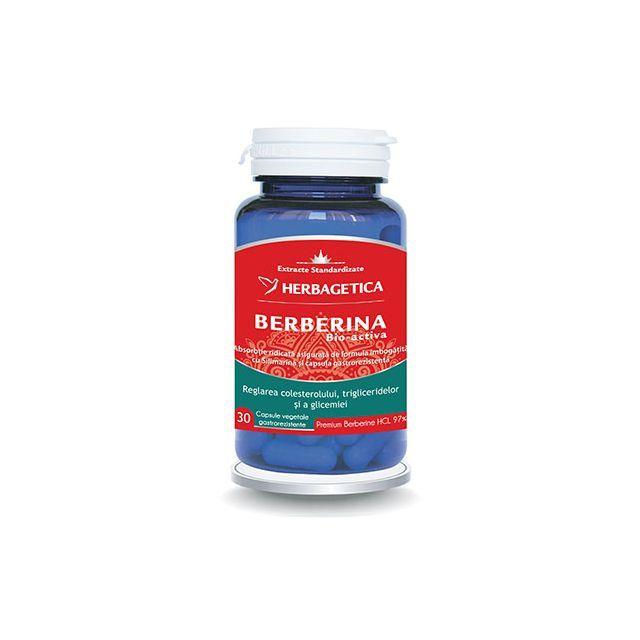 Berberina Bio Activa 30 cps, Herbagetica