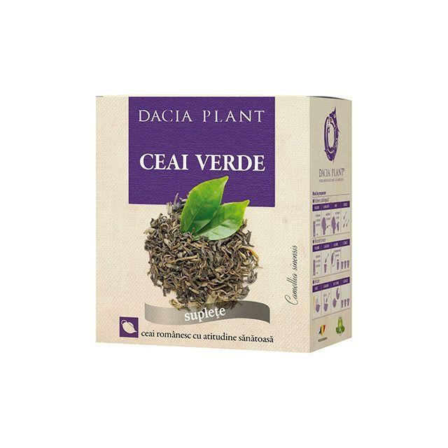 Ceai verde 50g, Dacia Plant
