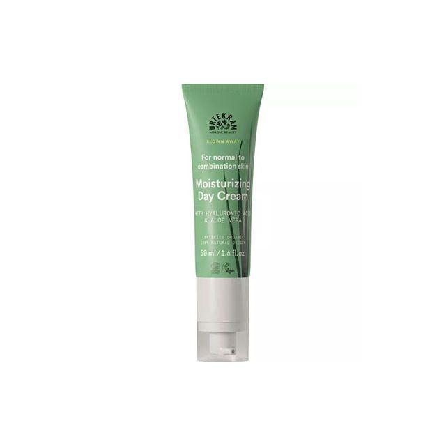 Crema bio faciala hidratanta zi ten normal ,gras, mixt cu lemongrass, aloe vera si acid hyaluronic 50ml, Urtekram