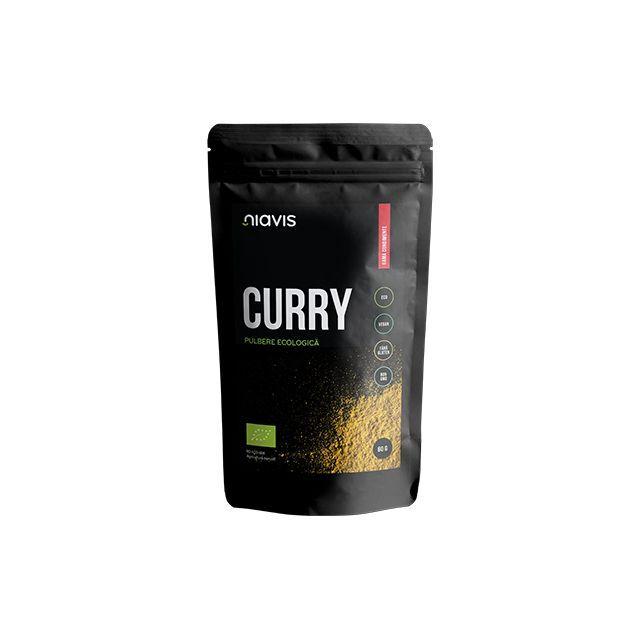 Curry Pulbere Ecologica/Bio 60g, Niavis