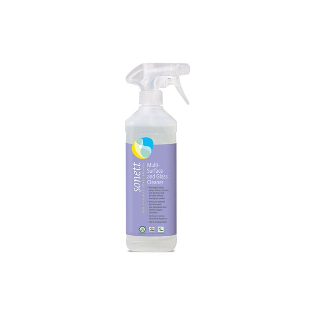 Detergent ecologic pentru sticla si alte suprafete 500ml, Sonett