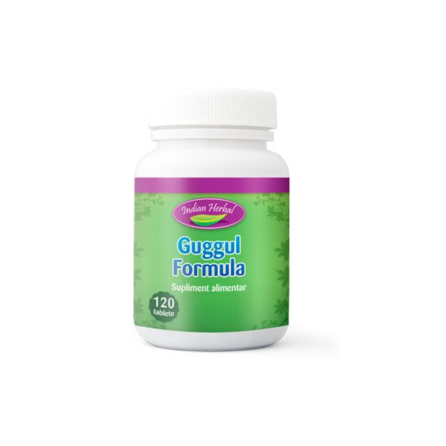 Guggul Formula 120 tbl, Indian Herbal