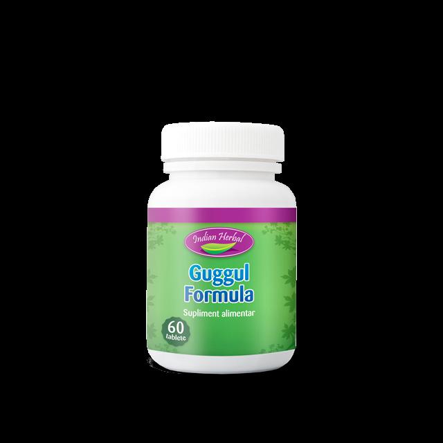 Guggul Formula 60 tbl, Indian Herbal