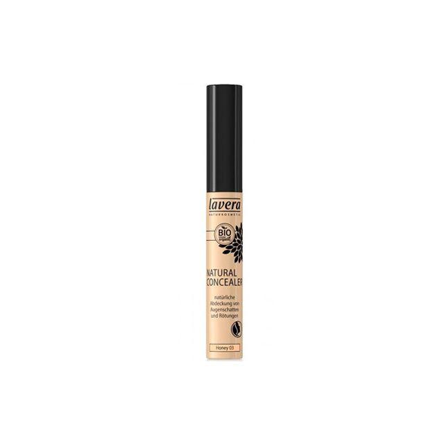 Corector lichid pentru cearcane si imperfectiuni Honey 03 6,5ml, Lavera
