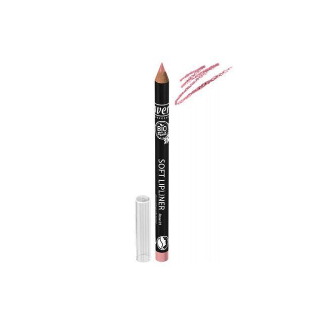 Creion Bio contur buze Rose 01 1.14g, Lavera