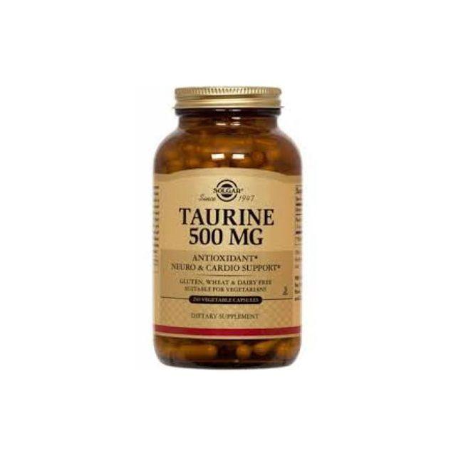 Taurine 500mg 50 cps, Solgar
