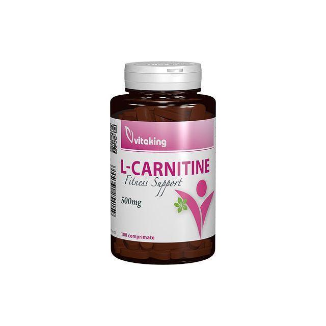 L-Carnitina 500mg 100 cpr, Vitaking