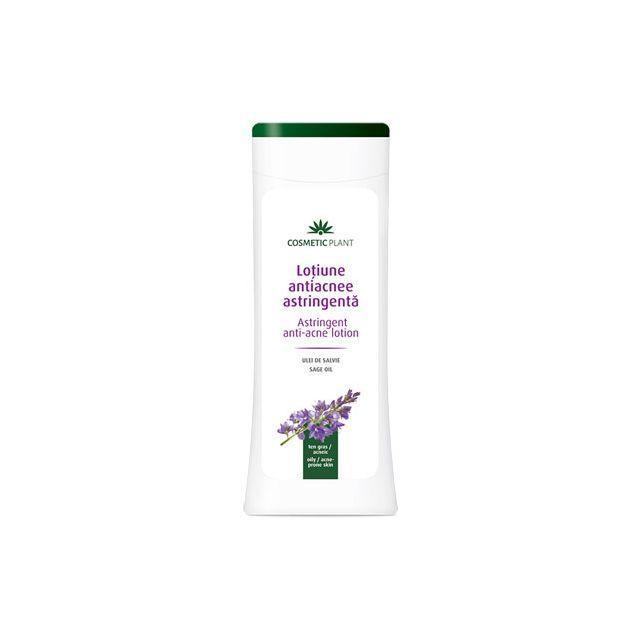 Lotiune antiacnee cu ulei de salvie 200ml, Cosmetic Plant