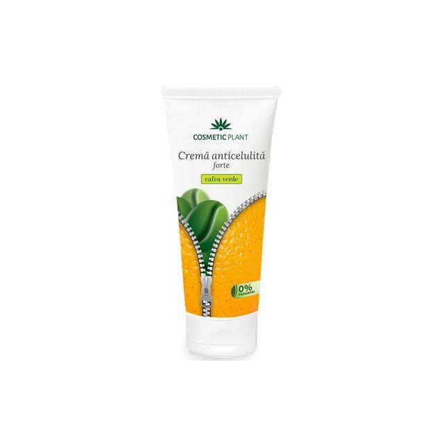 Crema anticelulita Forte cu extract de cafea verde 200ml, Cosmetic Plant