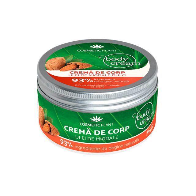 Crema corp cu ulei de migdale dulci 200 ml, Cosmetic Plant
