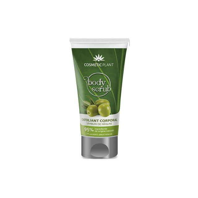 Exfoliant corporal cu samburi de masline 150ml, Cosmetic Plant