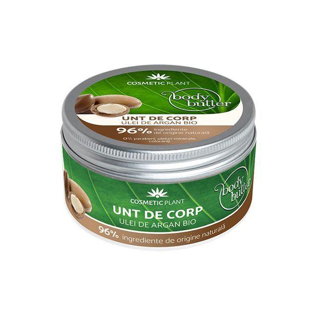Unt de corp cu ulei de argan bio 200ml, Cosmetic Plant