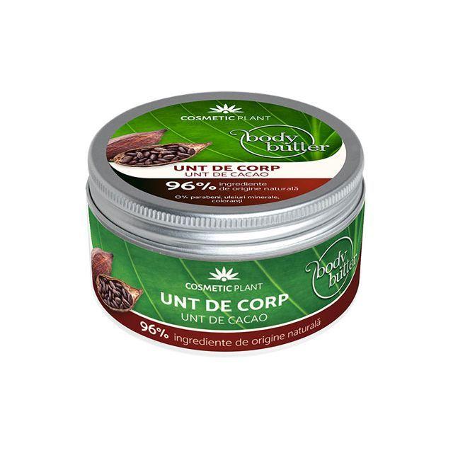 Unt de corp cu unt de cacao 200ml, Cosmetic Plant