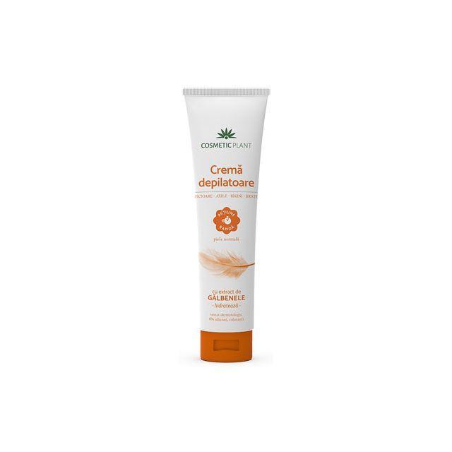 Crema depilatoare cu extract de galbenele 150ml, Cosmetic Plant