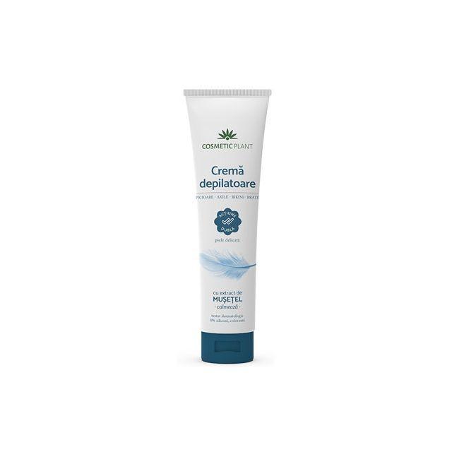 Crema depilatoare  cu extract de musetel 150ml, Cosmetic Plant