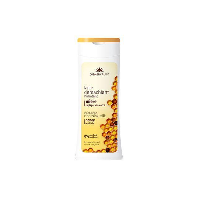 Lapte demachiant hidratant cu miere si laptisor de matca 200ml, Cosmetic Plant