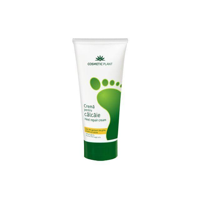 Crema pentru calcaie cu ulei din germeni de grau, cimbru si salvie 100ml, Cosmetic Plant