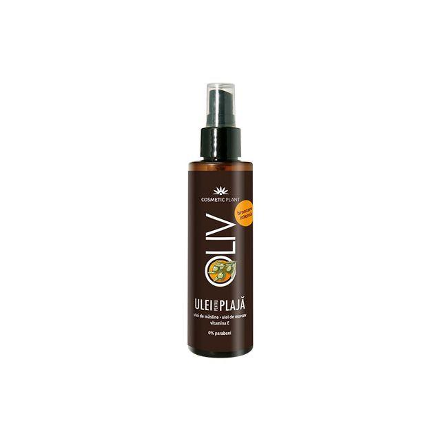 Ulei pentru plaja Oliv pentru bronzare intensa cu beta-caroten, vit. E si ulei de masline 150ml, Cosmetic Plant