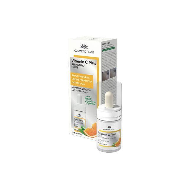Ser antirid forte Vitamin C Plus 30ml, Cosmetic Plant