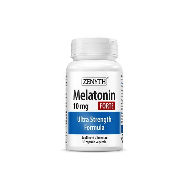 Melatonin Forte 10mg 30 cps, Zenyth