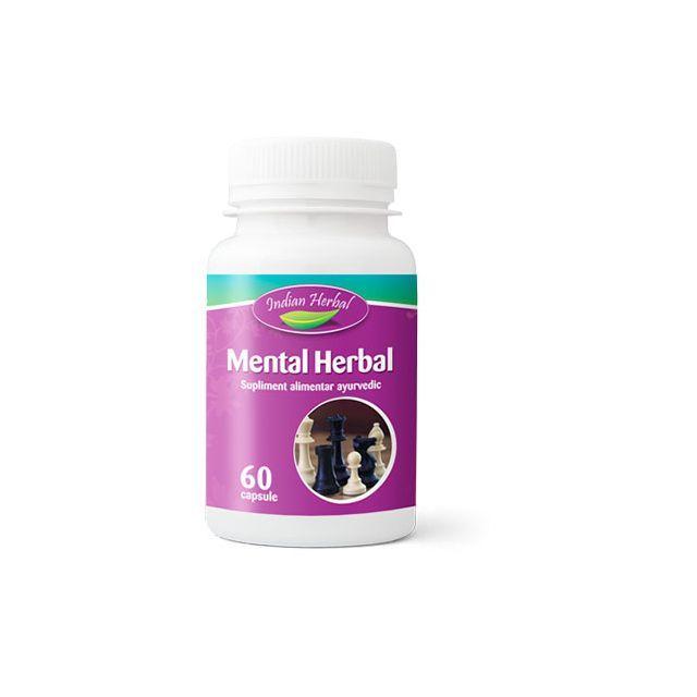 Mental Herbal 60 cps, Mental Herbal