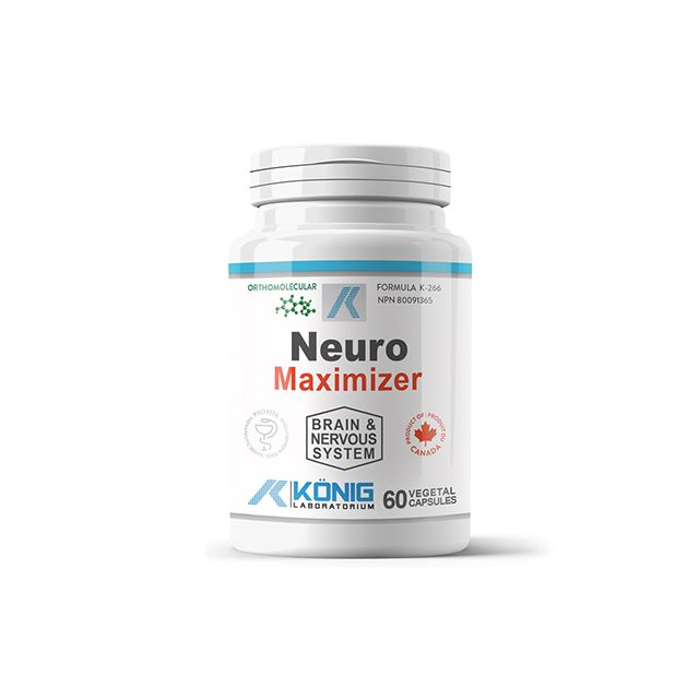 Neuro Maximizer 60 cps, Konig Nutrition