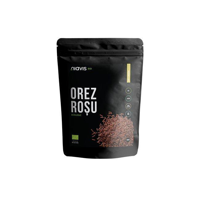 Orez Rosu Ecologic/Bio 500g, Niavis