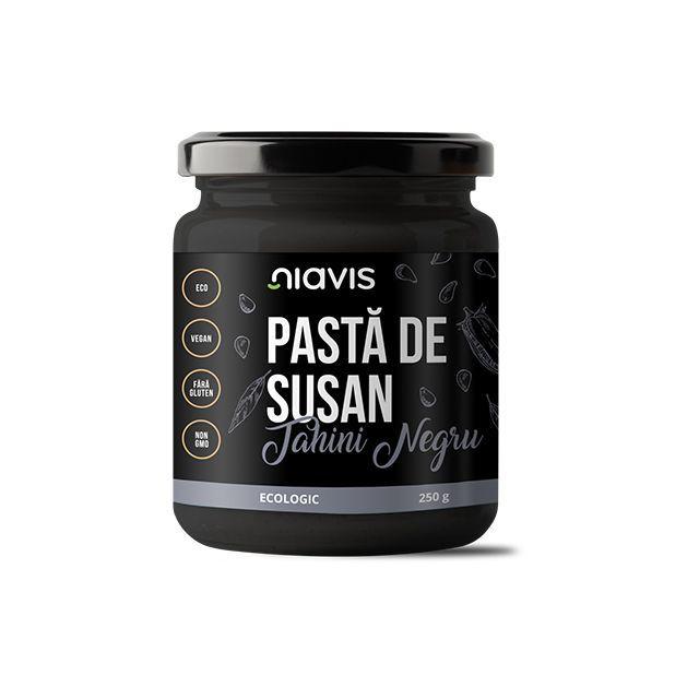 Pasta de Susan (Tahini Negru) Ecologica/BIO 250g, Niavis