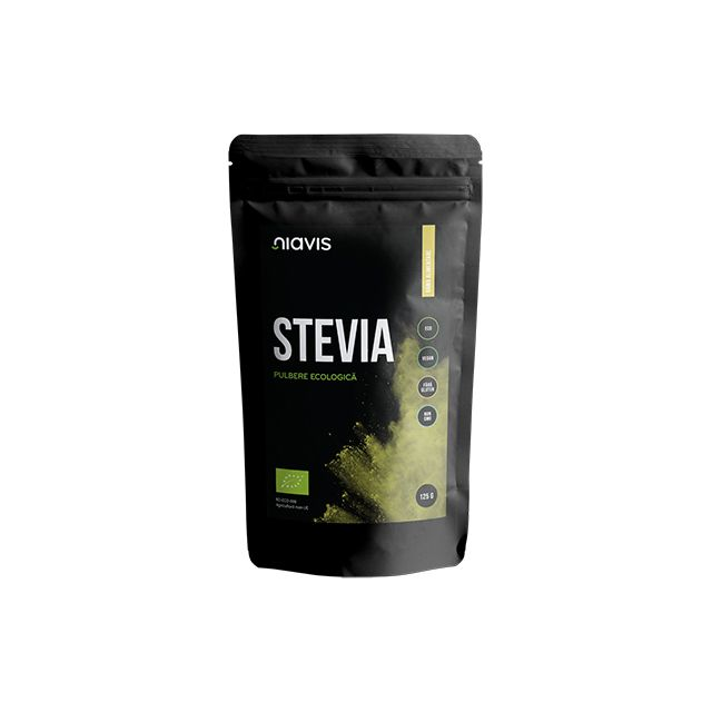 Stevia Pulbere Ecologica/BIO 125g, Niavis