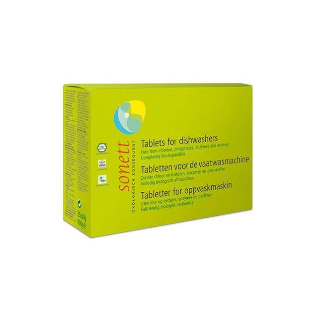 Tablete ecologice pentru masina de spalat vase 500g (25x20g), Sonett
