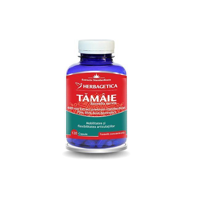 Tamaie - Boswellia serrata 120 cps, Herbagetica