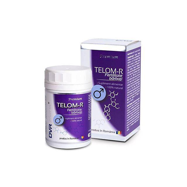 Telom-R Fertilitate Barbati 120cps, DVR Pharm