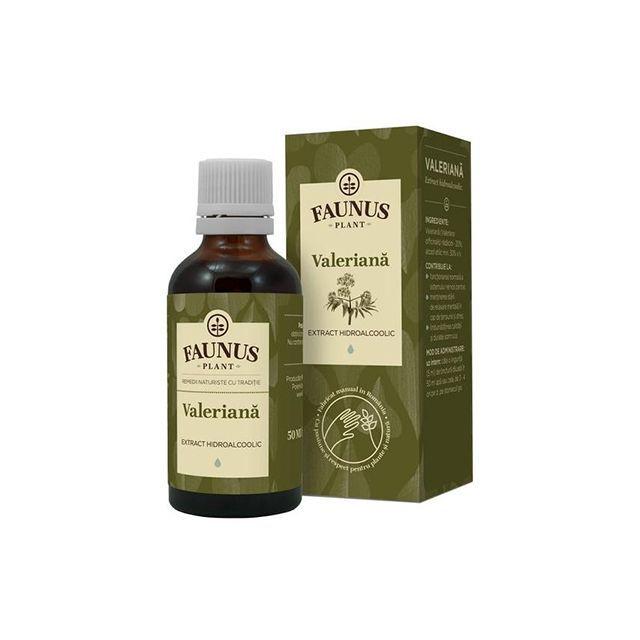 Tinctura Valeriana 50ml, Faunus Plant
