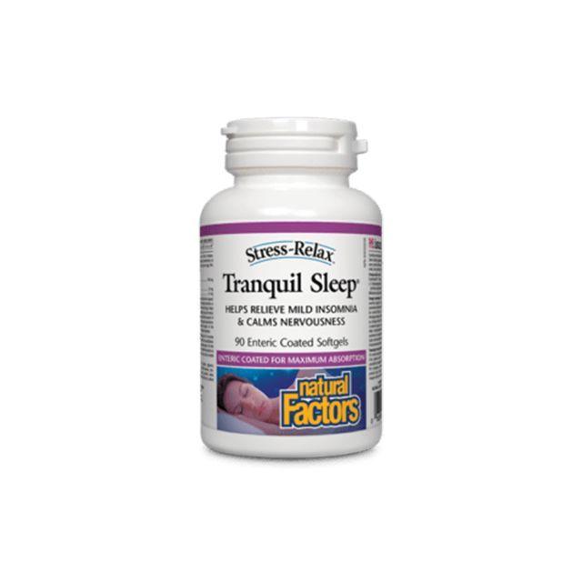 Tranquil Sleep (somn adanc) 90 cps, Natral Factors
