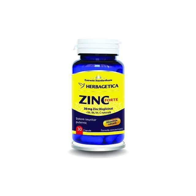 Zinc Forte 30 cps, Herbagetica