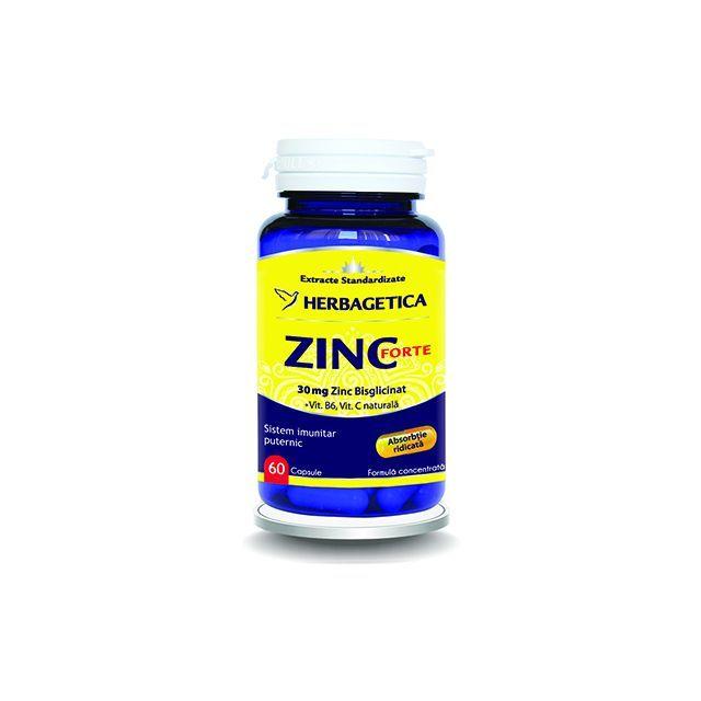 Zinc Forte 60 cps, Herbagetica