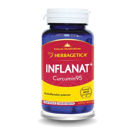 Inflanat Curcumin 95 60 cps, Herbagetica