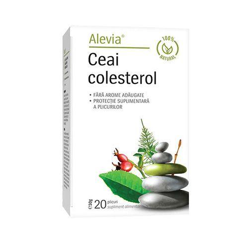 Ceai colesterol 20 plicuri, Alevia