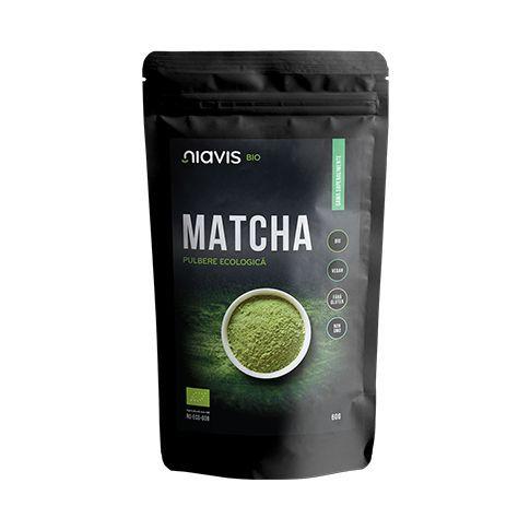 Matcha Pulbere Ecologica/Bio 60g, Niavis