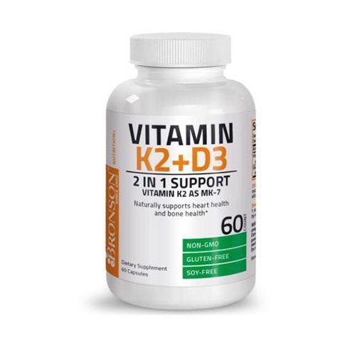 Vitamina K2 + Vitamina D3 60cps, Bronson