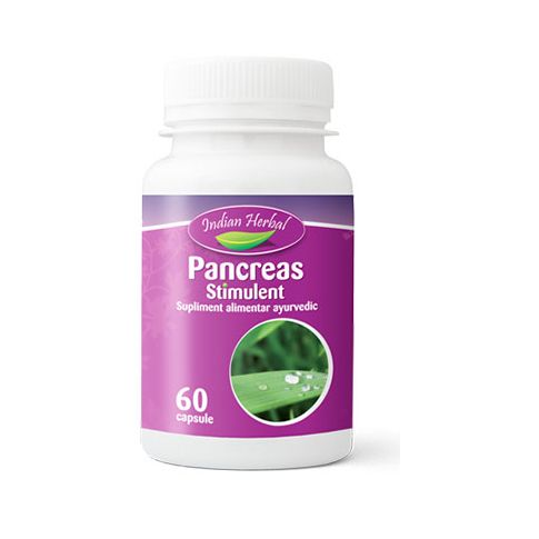 Pancreas Stimulent 60 cps, Indian Herbal