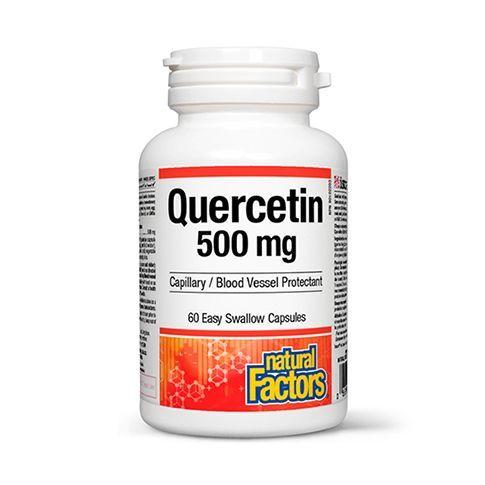 Quercetin 500mg 60 cps, Natural Factors