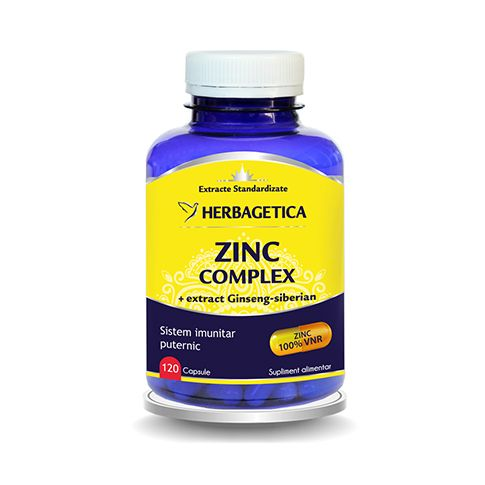 Zinc Complex 120 cps, Herbagetica