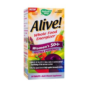Alive! Women's 50+ Ultra 30 tbl, Nature's Way