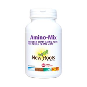 Amino-Mix BCAA 240 cpr, New Roots