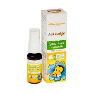 Spray de gat cu propolis Api Junior 20ml, Albina Carpatina