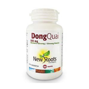 Dong Quai Forte (Angelica Sinensis) 500mg 100 cps, New Roots
