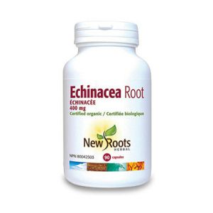Echinacea root forte 400mg 90 cps, New Roots