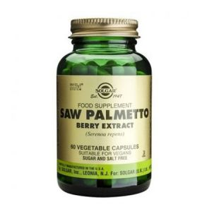 Saw Palmetto Berry Extract 60 cps, Solgar